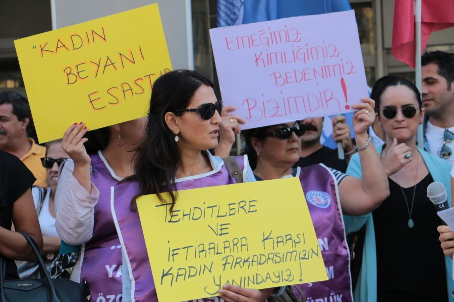 Tüm Bel-Sen'den kadın emekçiye tehdide tepki