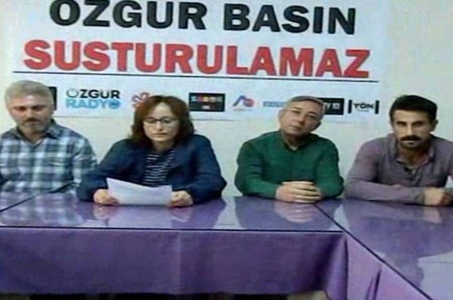 Samsun'da basına saldırılara tepki