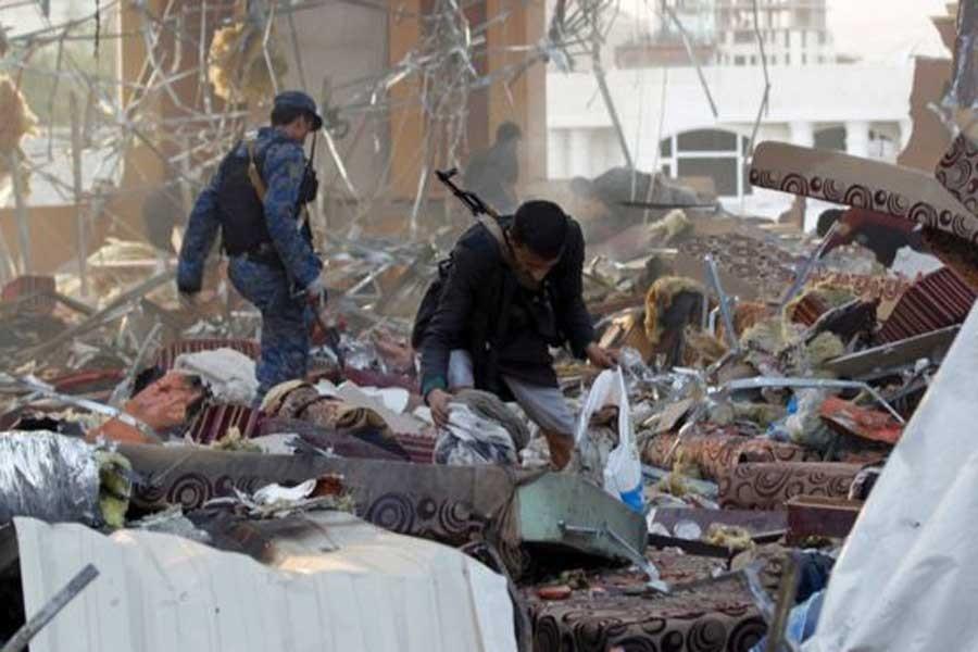 Yemen'de cenaze törenine hava saldırısı, 140 ölü