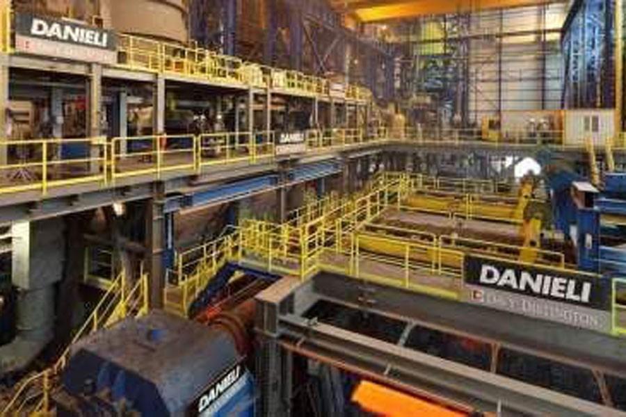 Ekinciler Demir Çelik'te 2 işçi yaralandı