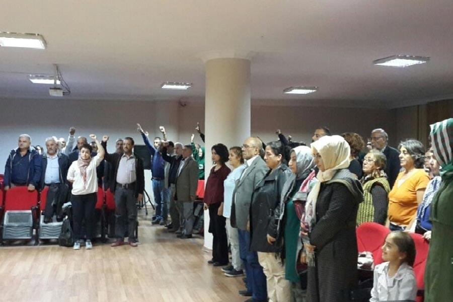 Gazi Mahallesi'nde 10 Ekim anması ve forum