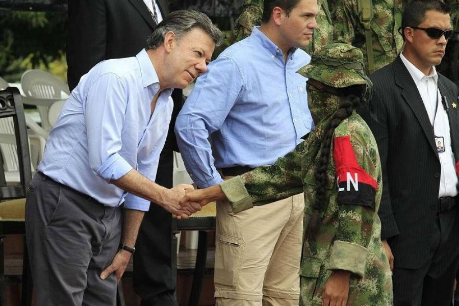 Kolombiya hükümeti ELN ile de müzakerelere başlıyor