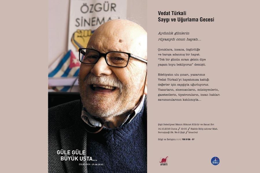 Vedat Türkali anılıyor