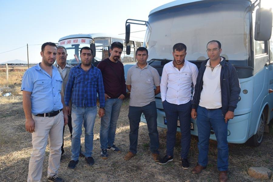 Antep'in İslahiye Belediyesi'nde dolmuşçular öfkeli