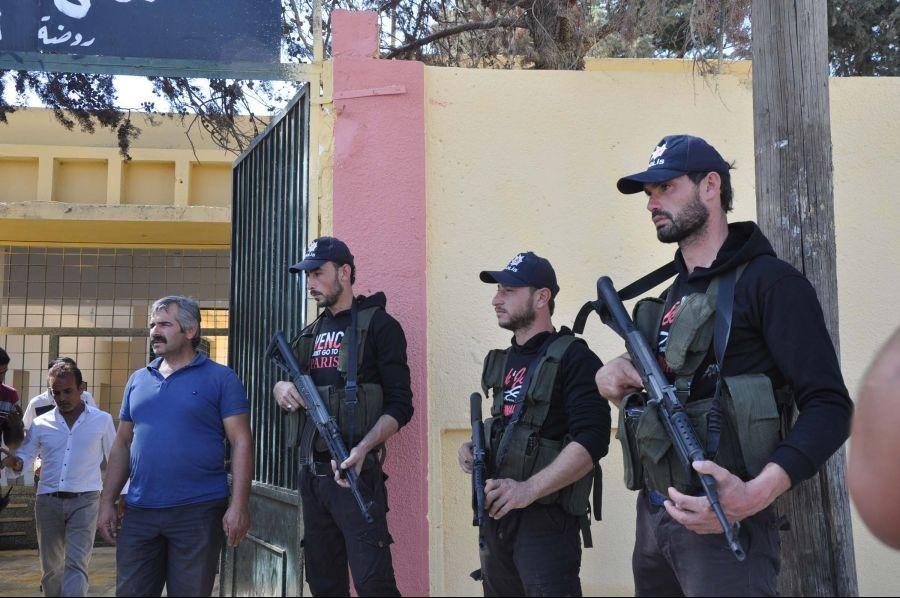 Cerablus'ta cihatçılara Türk polisi kepi