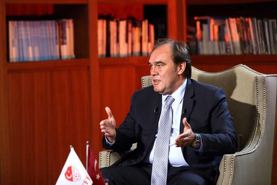 TFF Başkanı Yıldırım Demirören: Fatih Terim'le yola devam