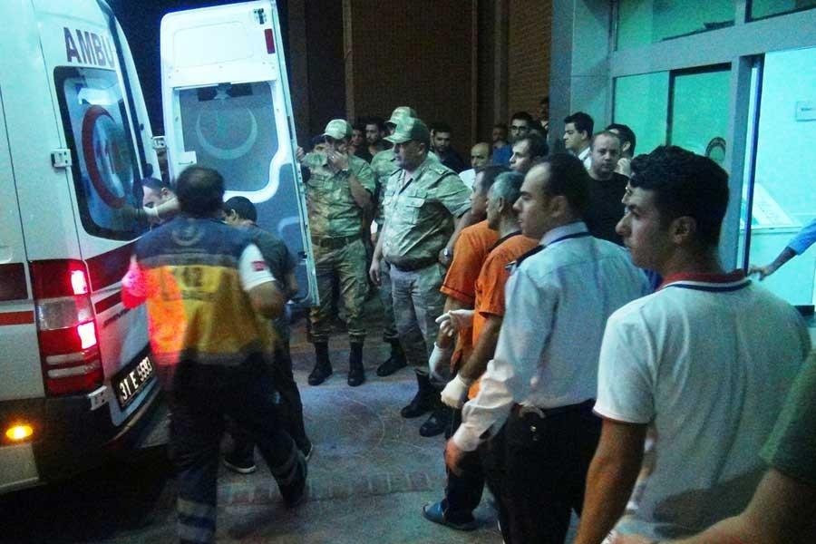 Amanos Dağları eteklerinde çatışma: 1 asker yaralandı