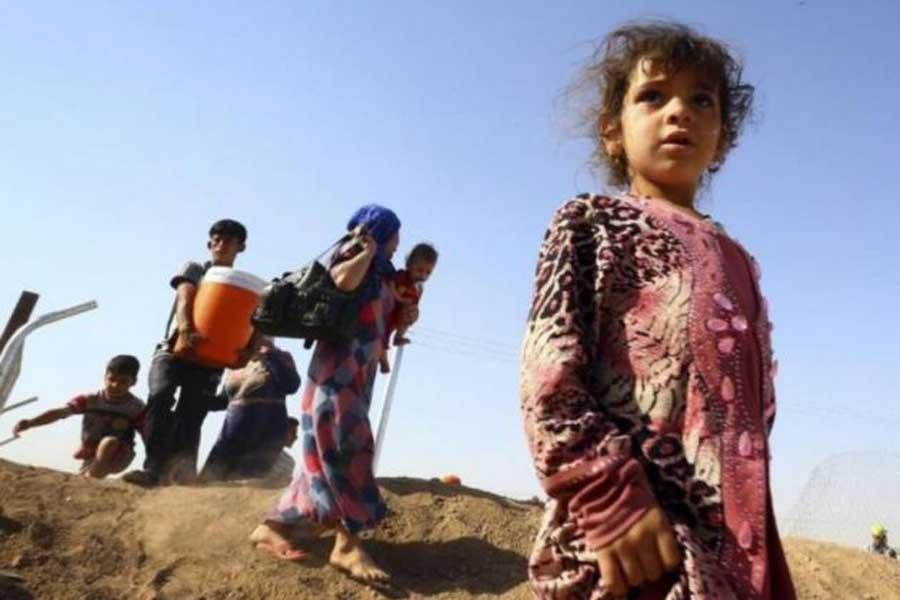 BM: Musul en büyük insani  krizle karşı karşıya