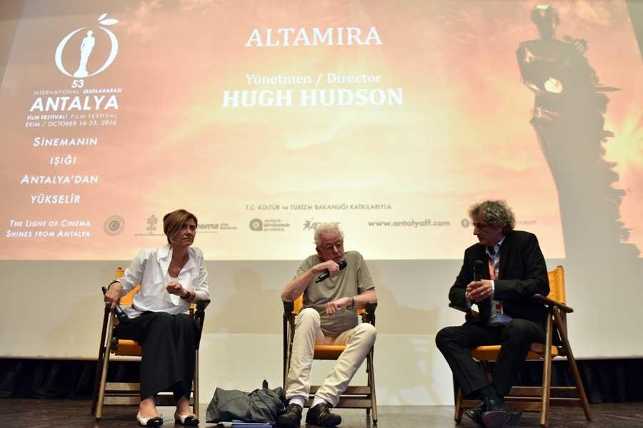 Antalya Film Festivali açılışını Altamira ile yaptı