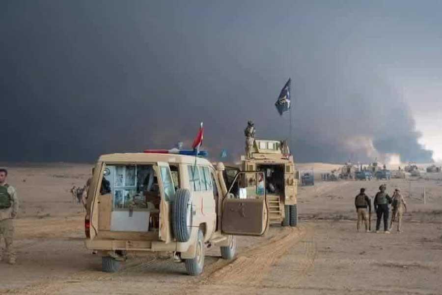 Irak ordusu Musul operasyonu için Geyera'dan harekete geçti