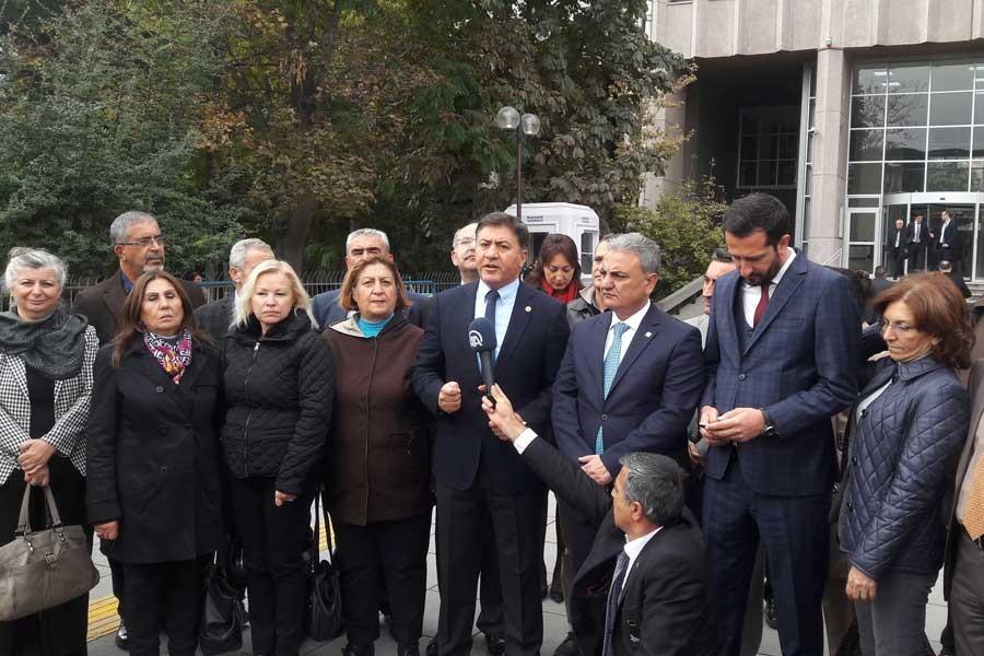 CHP'den Gökçek hakkında 'FETÖ'ye yardımdan suç duyurusu