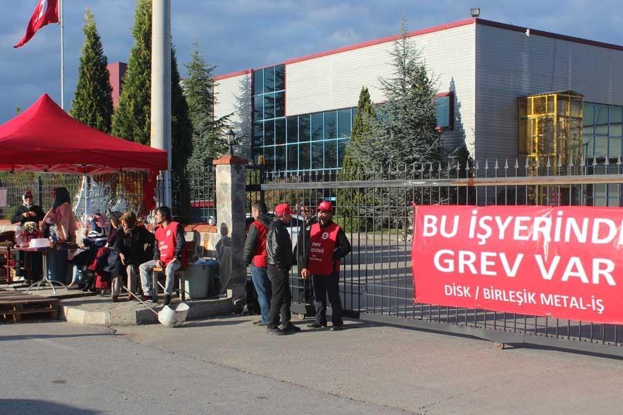 Kocaeli'de bulunan Cem Bialetti fabrikasında grev başladı