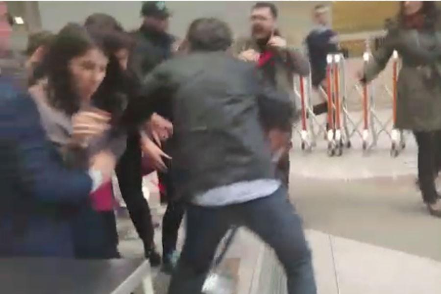 Çağlayan'daki İstanbul Adliyesinde avukatlara saldırı