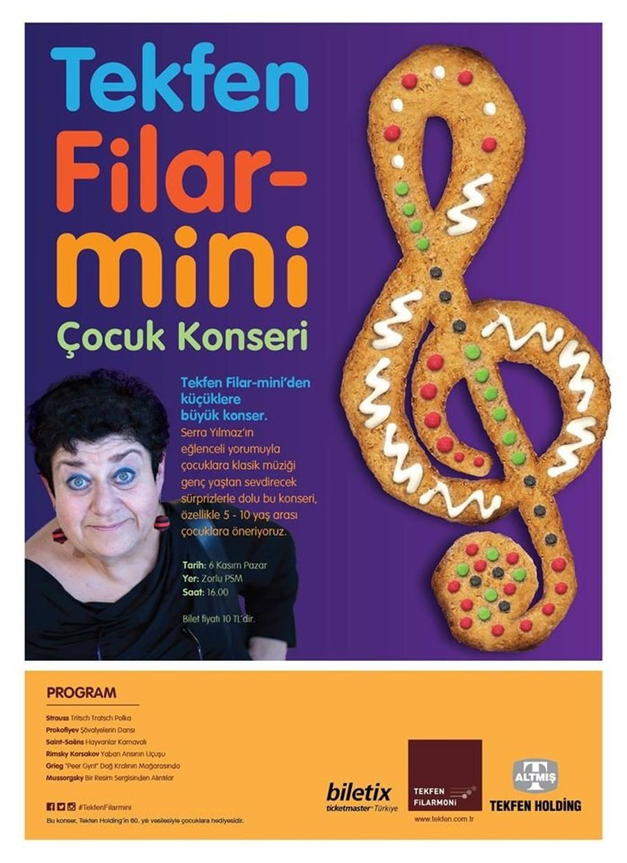 Tekfen Filar-Mini'den küçüklere büyük konser