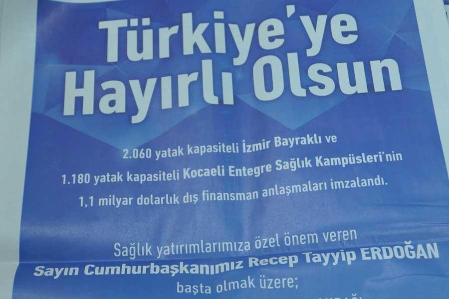 TÜRKİYE'Yİ 'HASTA ETME' GARANTİSİ