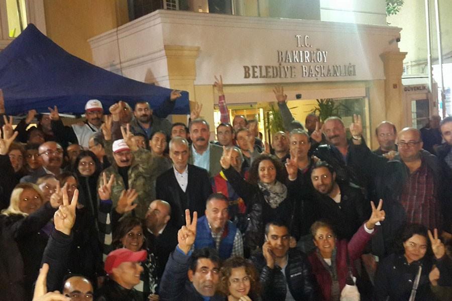 Bakırköy Belediyesi'nde sözleşme imzalandı