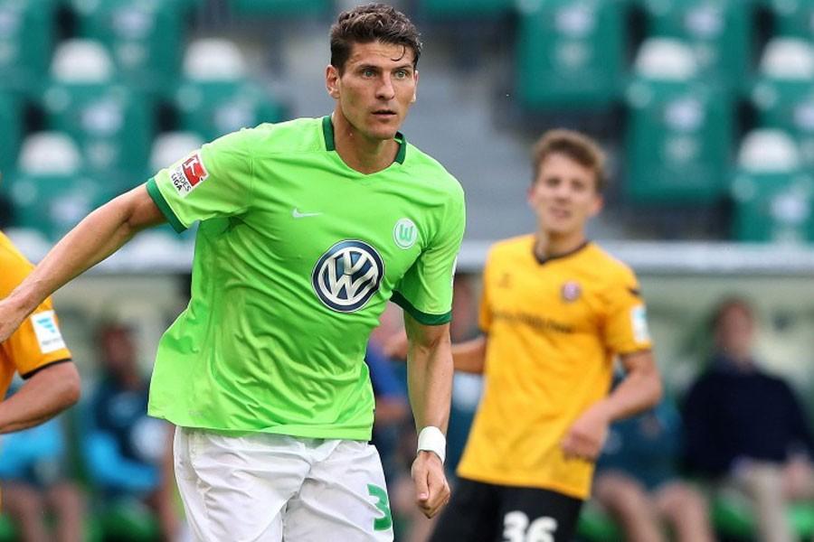 Mario Gomez ilk golünü attı