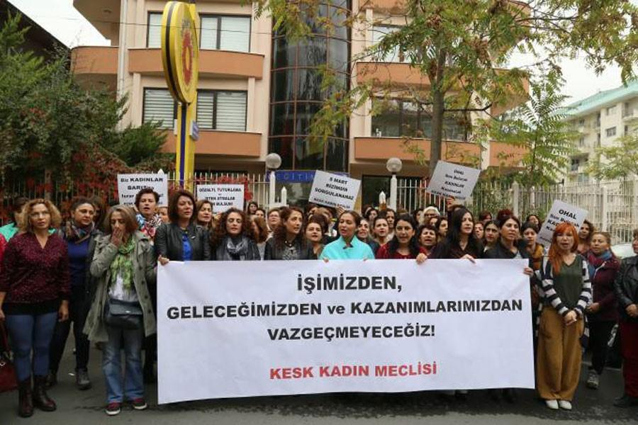 KESK Kadın Meclisi: Kazanımlarımızdan vazgeçmeyeceğiz