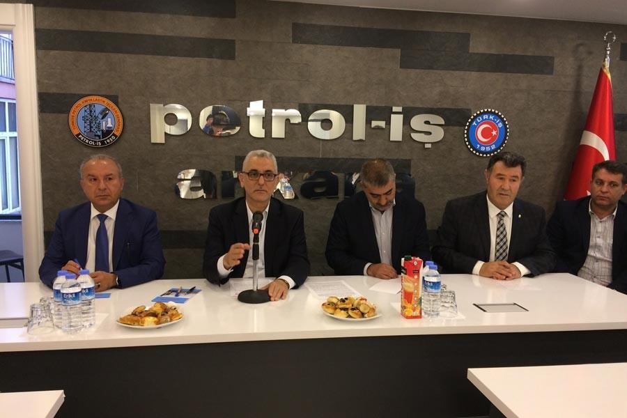 'Türkiye Petrolleri tekellere, işçi taşerona yem olmasın'