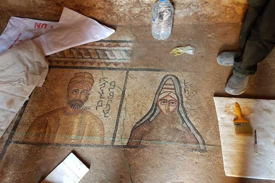 Ebediyet evi mozaiği bulundu