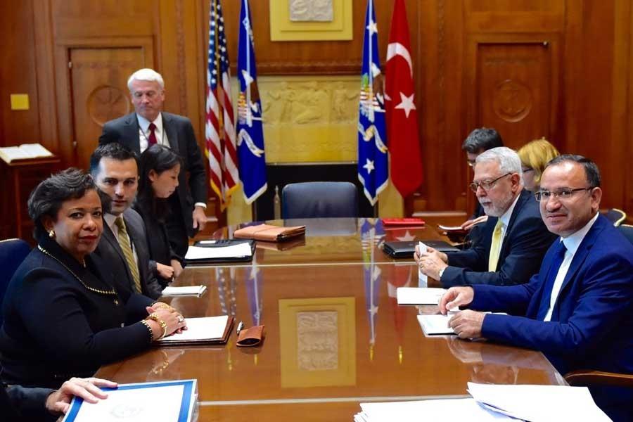 Bozdağ, ABD Adalet Bakanı ile Gülen'in iadesini görüştü
