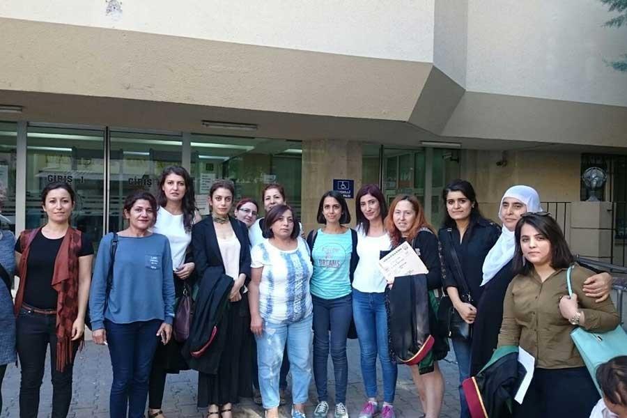 Adana'da kadınlar 8 Mart nedeniyle hakim karşısına çıktı