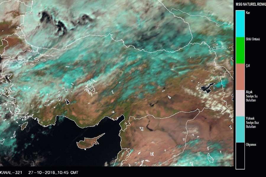 Meteoroloji: Asit yağmuru riski oldukça zayıf