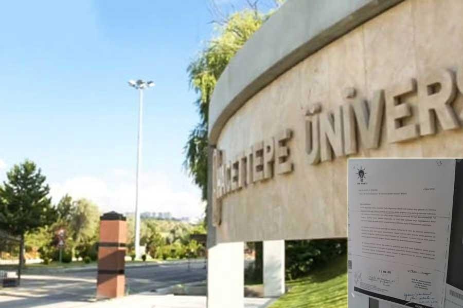 Üniversite panolarından, AKP kütüphanesine çağrı