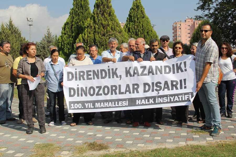 Çukurova halkı, parkını geri istiyor