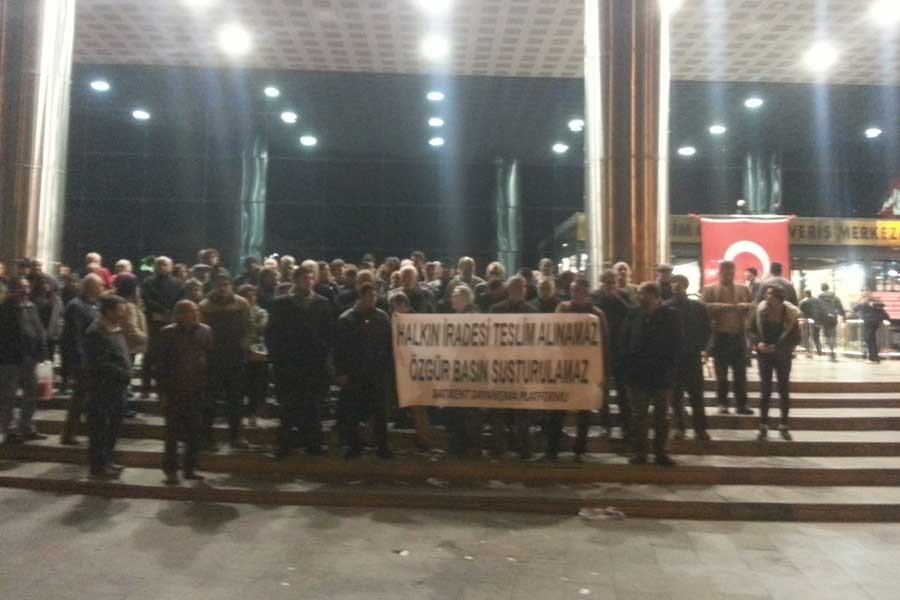 Batıkent halkı artan baskıları protesto etti