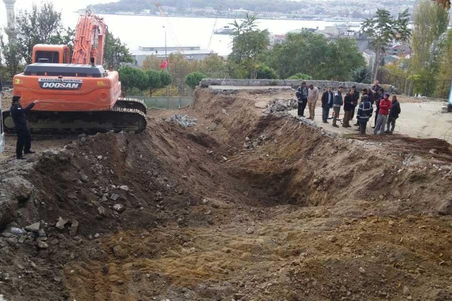 Roma Parkı'nda çalışmalar yine durduruldu