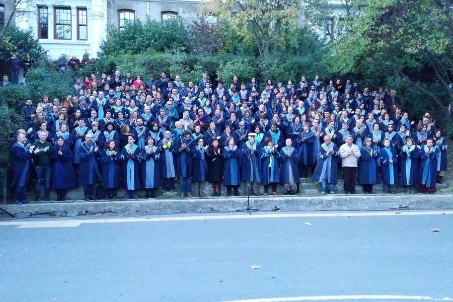 Boğaziçi Üniversitesi öğretim üyeleri: KHK iptal edilsin