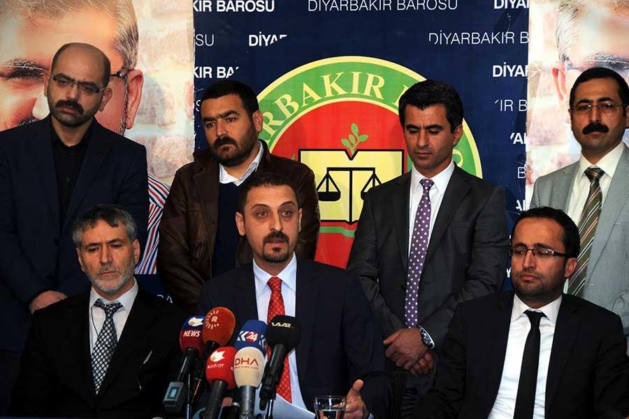 Diyarbakır Barosu tutuklu vekillerin bırakılmasını istedi