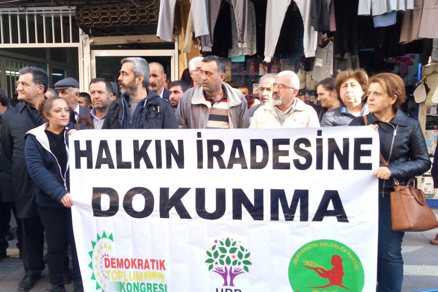 HDP Malatya örgütü demokrasi nöbetine başlıyor