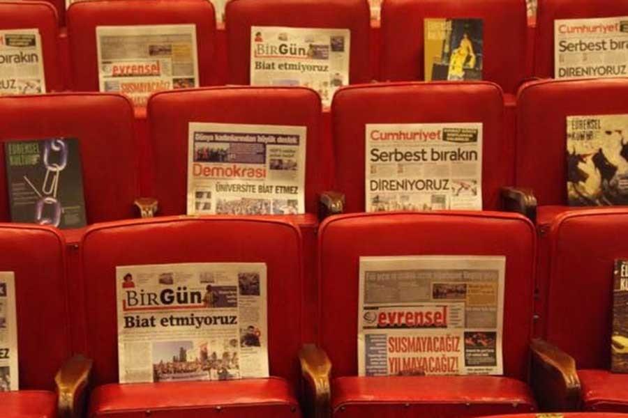 AST'tan muhalif basına destek: Seyirci kalmayacağız!