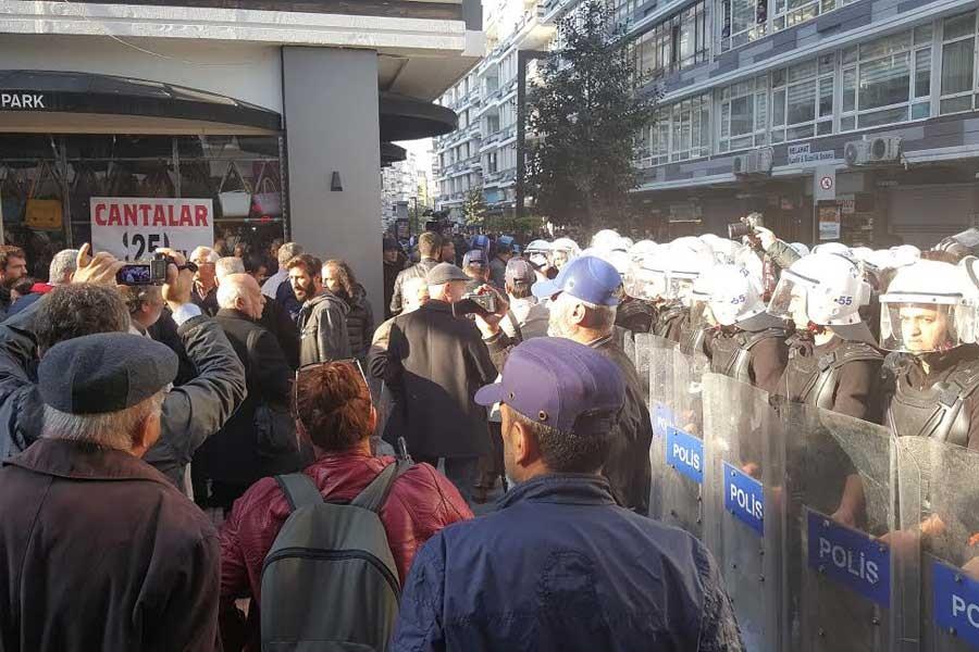 Samsun'da tutuklamaları protesto etmek isteyenler engellendi