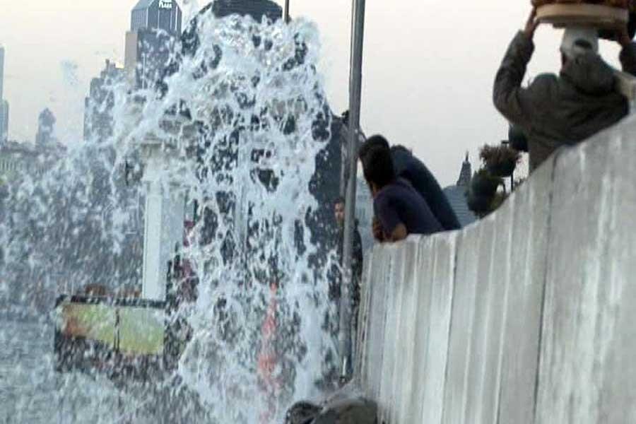 Lodos İstanbul'da deniz ulaşımını etkiledi