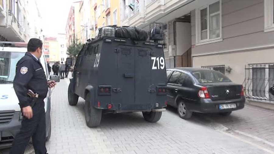 Esenyurt'ta IŞİD Operasyonu