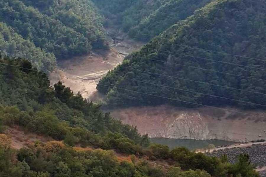 Barajlardaki doluluk oranı düştü