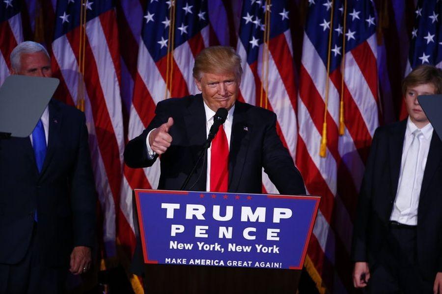 Başkan Trump... Bunu yazmayı hiç beklemiyorduk