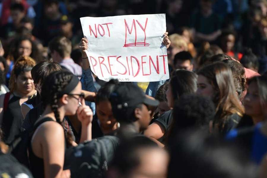 ABD'de Trump karşıtı gösteriler sürüyor