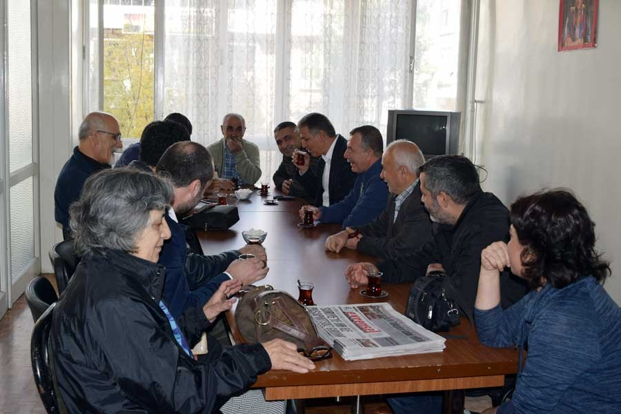 HDP heyeti Emek Partisi Antep İl Örgütünü ziyaret etti
