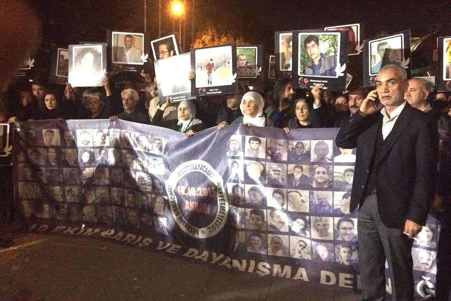 10 Ekim aileleri: Talebimiz gerçek faillerin de yargılanması