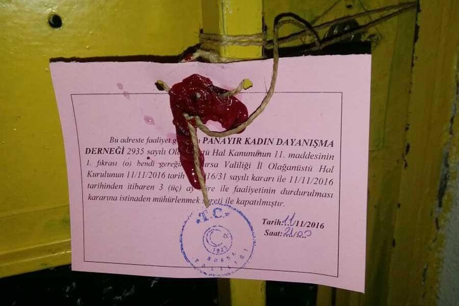 Panayır Kadın Dayanışma Derneği kapatıldı
