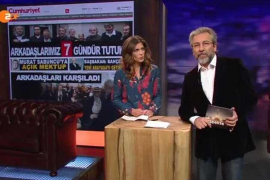 Can Dündar, Aslı Erdoğan'ın mesajını okudu