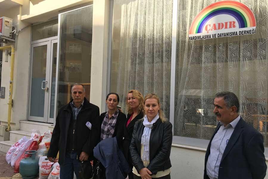 Malatya'da mültecilerle dayanışma derneği mühürlendi