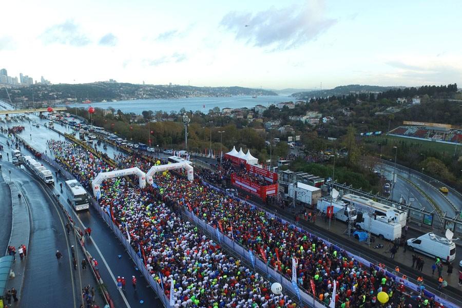 Vodafone İstanbul Maratonu'nunda kazananlar belli oldu