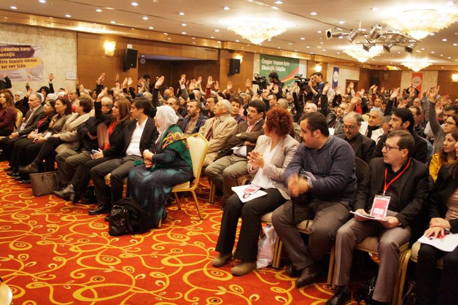 HDK Kongresi'ne Demirtaş, Yüksekdağ ve Tuncel'den mesaj