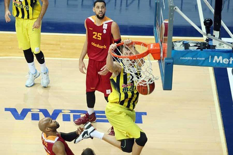 Fenerbahçe, Galatasaray'a evinde yine geçit vermedi