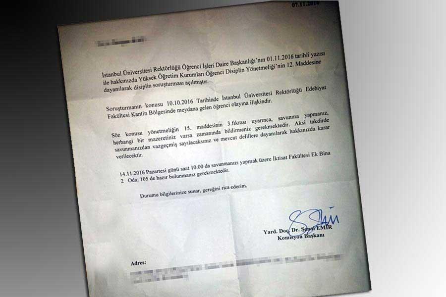 10 Ekim anmasında darp edilen öğrencilere soruşturma!